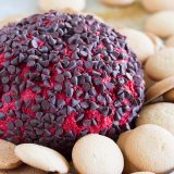 This Red Velvet Cheese Ball is the ultimate dip for red velvet lovers!! This sweet version of a cheese ball will have you going back for more!