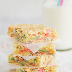 Cake Batter Blondies – a Celebration!
