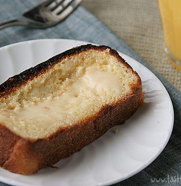 Condensed Milk Toast | www.tasteandtellblog.com