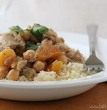 Moroccan Chicken Thighs | www.tasteandtellblog.com