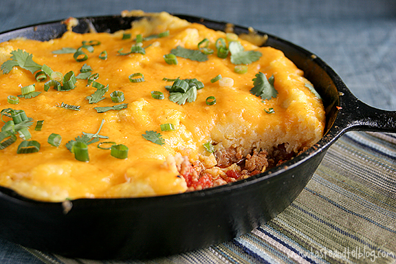 Pork Lover's Tamale Pie