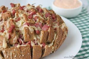 Reuben Pull Bread | www.tasteandtellblog.com