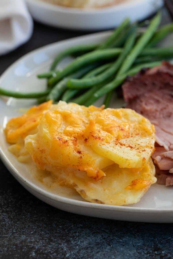 Scalloped Potato Recipe and Ham