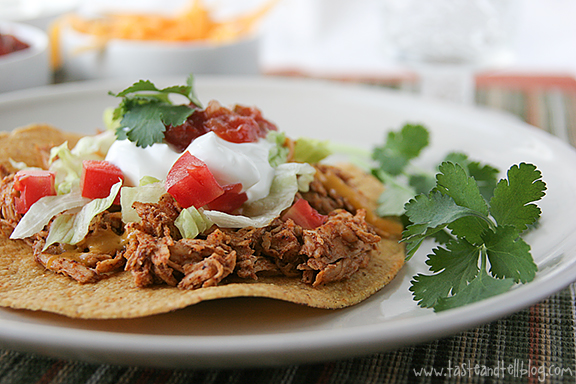http://www.tasteandtellblog.com/wp-content/uploads/2012/03/Slow-Cooker-Chicken-Tostadas-recipe-taste-and-tell-1.jpg