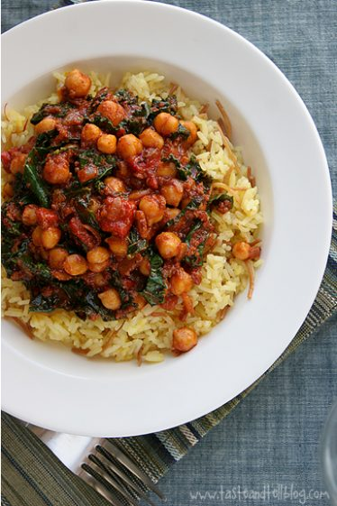 Spanish Style Rice and Beans | www.tasteandtellblog.com