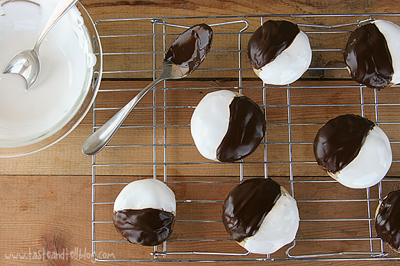 Black and White S'mores Cookies