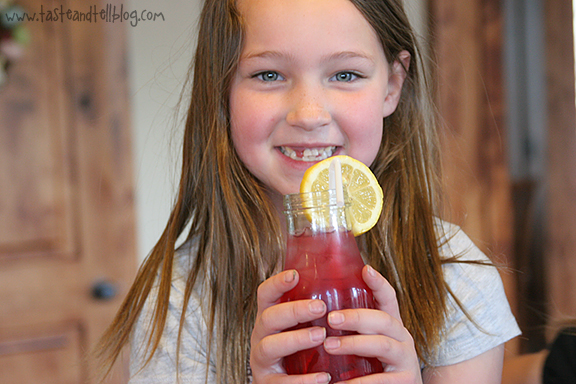 A Bunny Birthday Party {Cranberry Spritzer Recipe & a Giveaway}