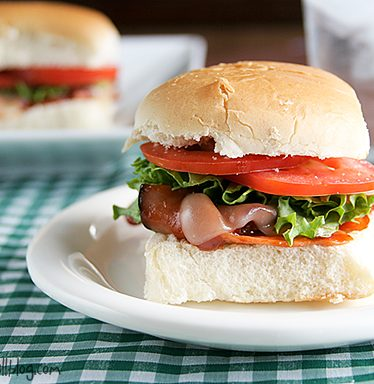 Hot Ham Sliders | www.tasteandtellblog.com