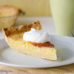 Lemon Chess Pie | www.tasteandtellblog.com