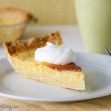 Lemon Chess Pie | www.tasteandtellblog.com