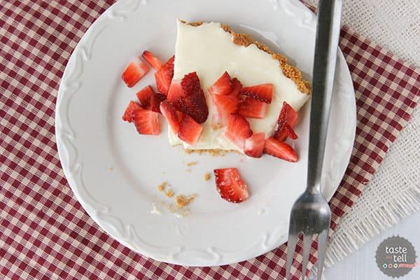 Recipe for Marshmallow Lemon Tart on Taste and Tell