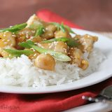 Orange Ginger Chicken | www.tasteandtellblog.com