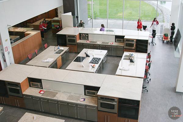 A visit to the Betty Crocker Kitchens in Minnesota.