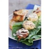 Grilled Chicken Caesar Kabobs | www.tasteandtellblog.com