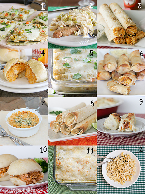 24 Ways To Use Shredded Chicken Taste And Tell