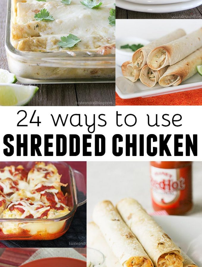 24 Ways to Use Shredded Chicken