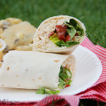 BLT Ranch Chicken Wraps