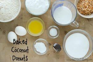 Baked Coconut Donuts   www.tasteandtellblog.com