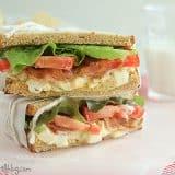 Egg Salad BLT | www.tasteandtellblog.com