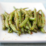 Green Beans with Ginger and Soy | www.tasteandtellblog.com