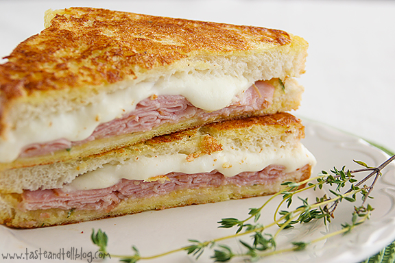 Italian-Style Monte Cristos {Saturdays with Rachael Ray}
