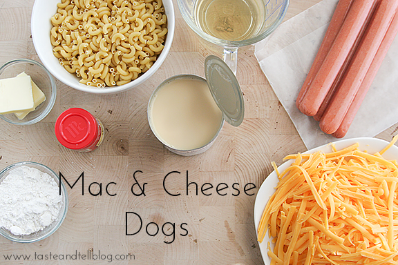 Mac & Cheese Dogs | Taste and Tell