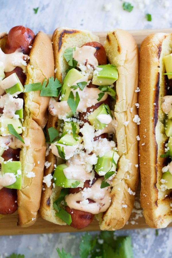 Recipe for Mexican Hot Dog