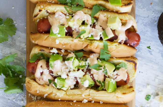 How to make Mexican Hot Dogs