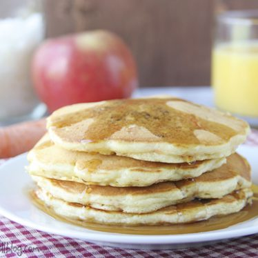 Morning Glory Pancakes | www.tasteandtellblog.com