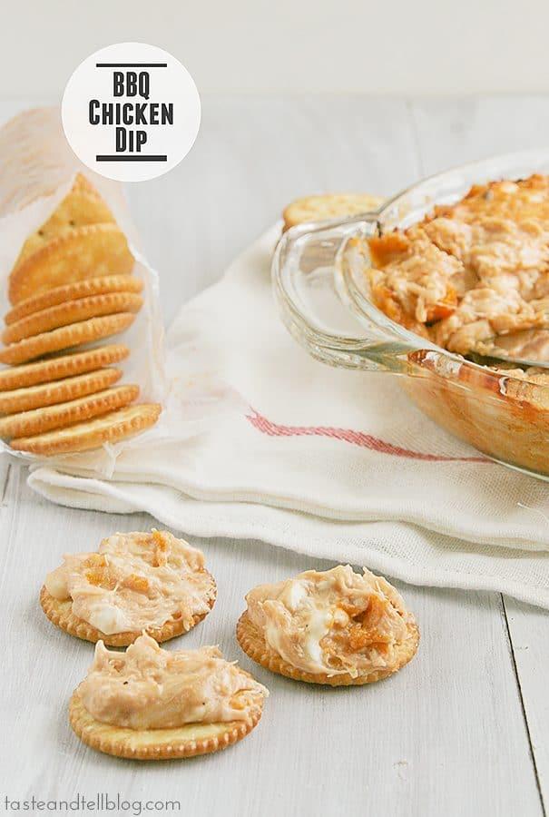 BBQ Chicken Dip | www.tasteandtellblog.com