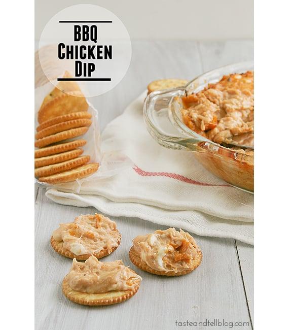 BBQ Chicken Dip