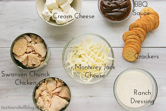 BBQ Chicken Dip | Taste and Tell