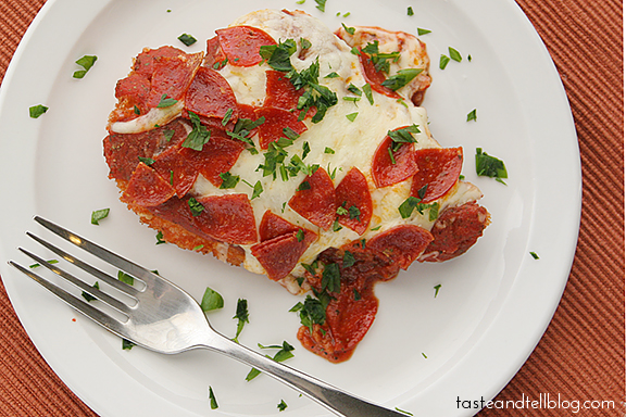 Chicken Parmesan with Pepperoni | Taste of Tell