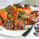 Fire Roasted Tomato Pot Roast | www.tasteandtellblog.com