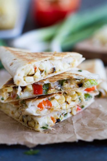 Grilled Corn Quesadilla Recipe