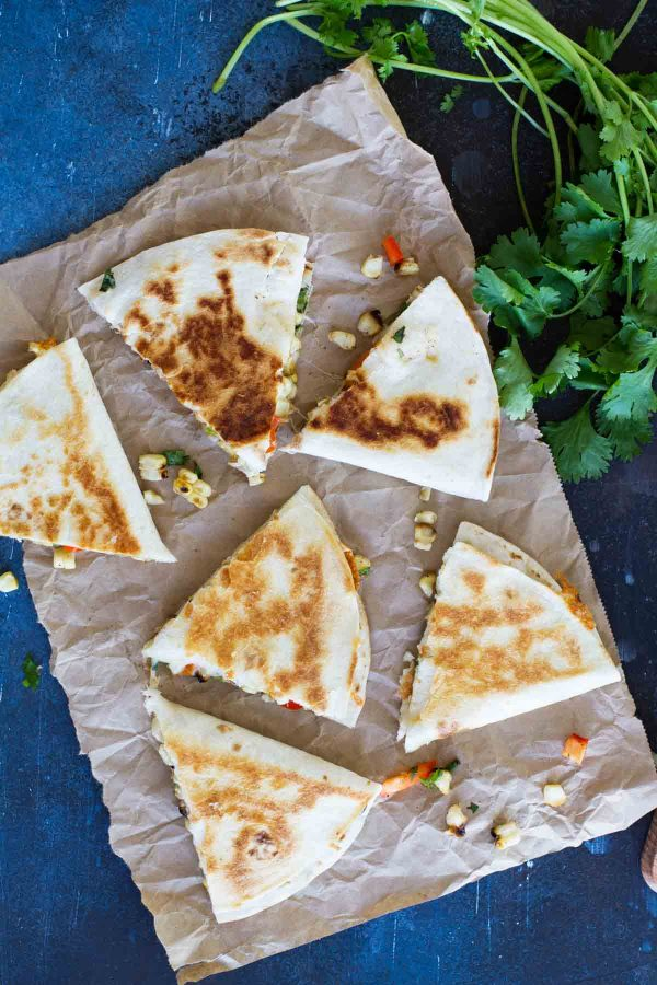 Summer dinner recipe - Grilled Corn Quesadilla Recipe
