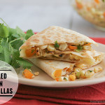 Fridays with Rachael Ray – Grilled Corn Quesadillas