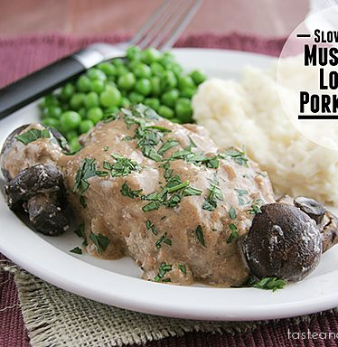 Mushroom Lovers Pork Chops | Taste and Tell
