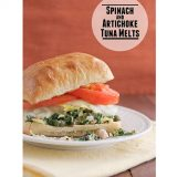Spinach and Artichoke Tuna Melt | Taste and Tell