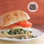 Spinach and Artichoke Tuna Melts {Fridays with Rachael Ray}