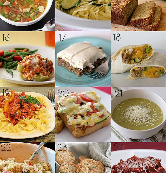 24 Zucchini Recipes | Taste and Tell
