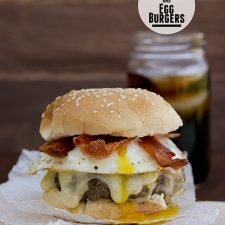 Bacon And Egg Burger Taste And Tell
