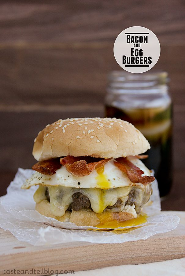 Bacon and Egg Burger {Fridays with Rachael Ray}
