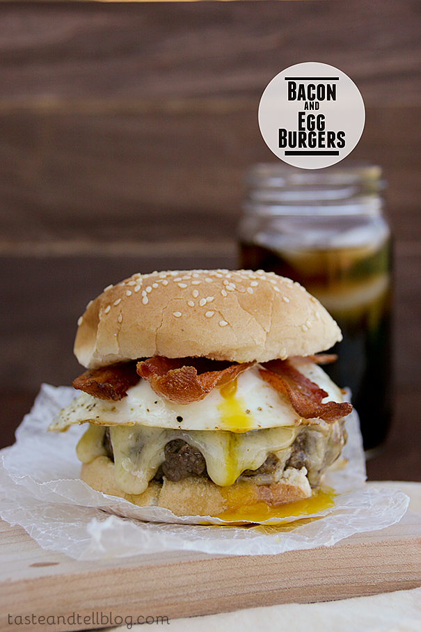 Bacon and Egg Burger | Taste and Tell
