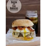 Bacon and Egg Burger | www.tasteandtellblog.com