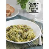 Chicken and Pasta with Cilantro Pesto | www.tasteandtellblog.com