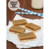 Chocolate Caramel Bars | www.tasteandtellblog.com