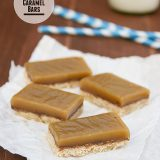 Chocolate Caramel Bars from www.tasteandtellblog.com