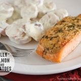Dilly Salmon and Potatoes | www.tasteandtellblog.com