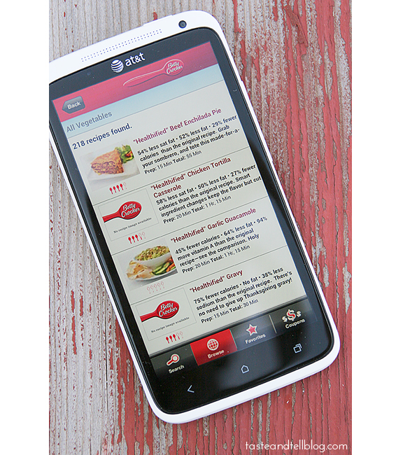 Favorite Foodie Apps - Betty Crocker
